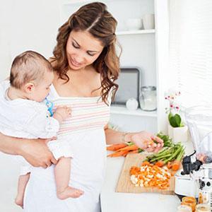 Особенности питания женщины при грудном вскармливании